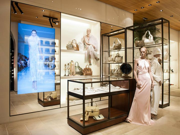 Ralph Lauren flagship store by Michael Neumann Architecture, Stockholm store design