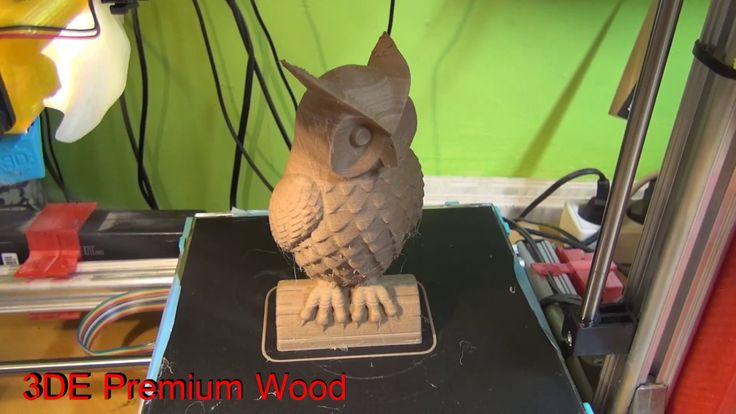 3D printing (Owl and crocodile)