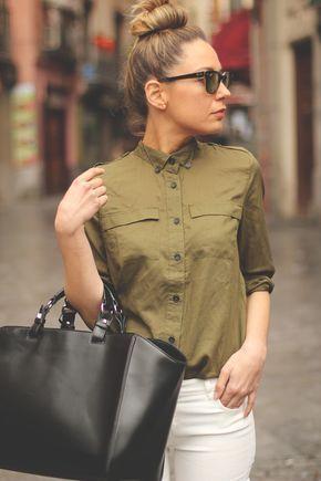 El color verde militar siempre será una tendencia clásica.