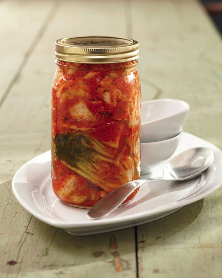 Kimchi from 'Real Food Fermentation' by Alex Lewin
