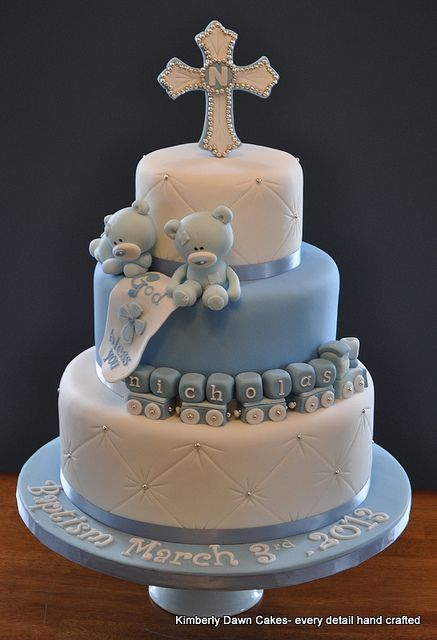 Christening cake! excellent with Designed by DaniN baptism invites! Check her Etsy shop https://www.etsy.com/shop/DesignedbyDaniN