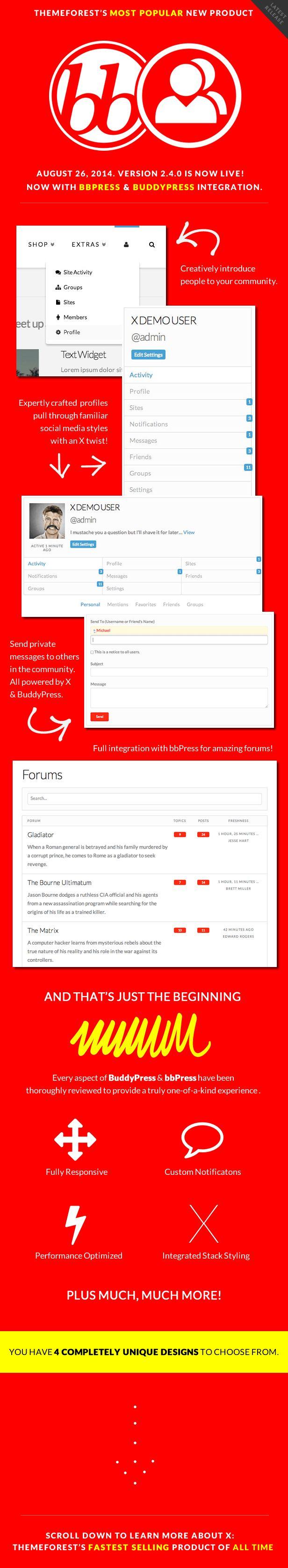 WordPress - X | The Theme | ThemeForest