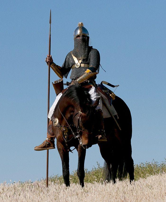 Sassanid Persian Cavalry - Sassanian Savaran in Four Horn Saddle