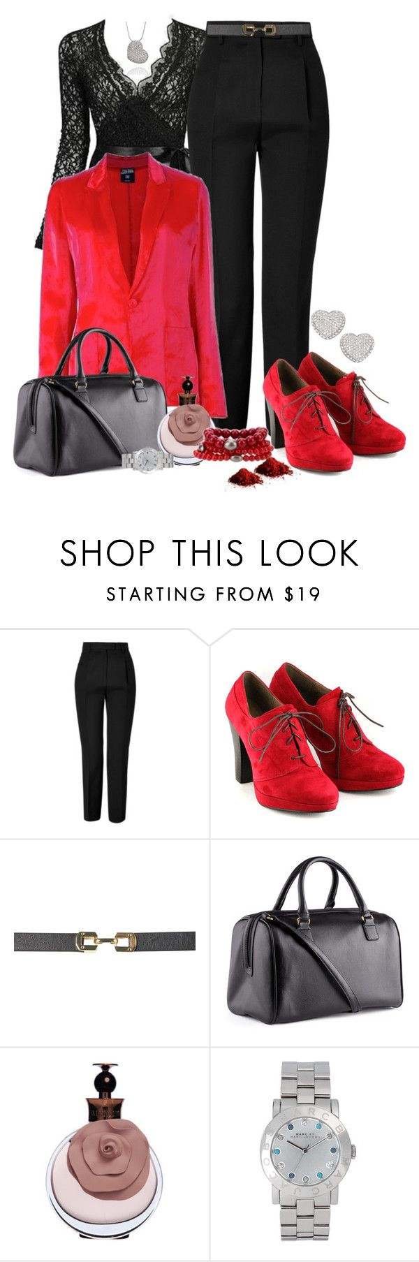 """""""Elegante....."""" by sil-engler ❤ liked on Polyvore featuring Emilio Pucci, Esska, Jean-Paul Gaultier, Topshop, H&M and Marc by Marc Jacobs"""