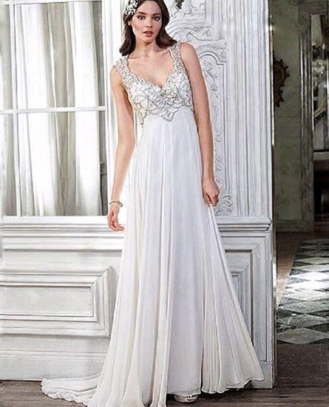 gelinlikbu:  Şifon Gelinlikler için -... #dress #cute #fashion #modern #design #dresses #gown #prom #longdress #shortdress #cute #dresses #wedding #party #girl #women