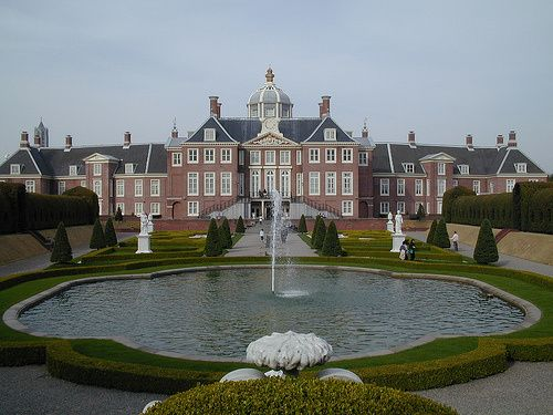 "Palace ""Huis ten Bosch"" in The Haque garden side"