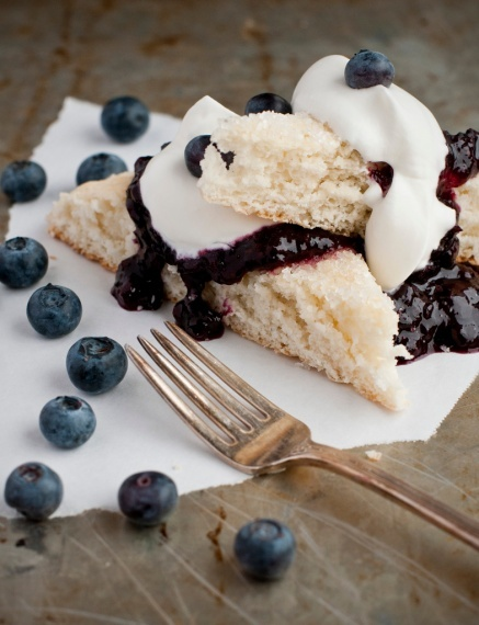 blueberry shortcake. | Sweet Treats | Pinterest