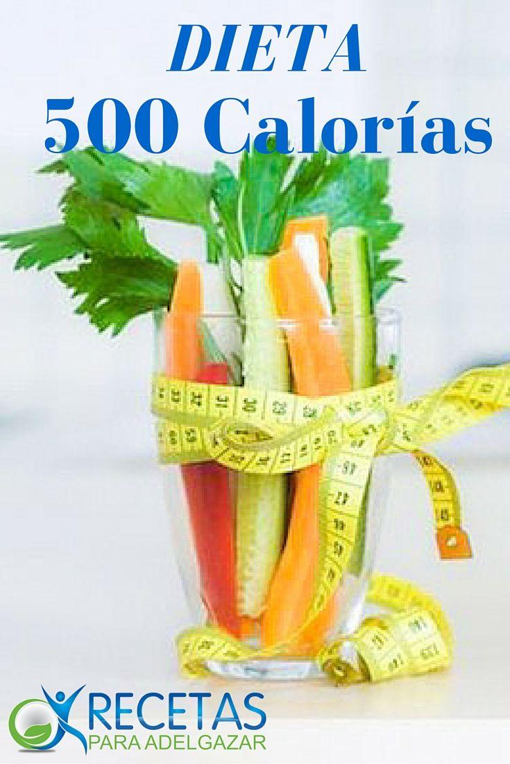¡No te pierdas esta #Dieta rápìda de 500 calorías!
