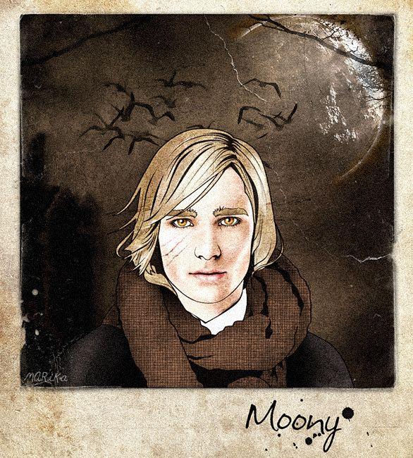 Moony by MARiKaArt on deviantART