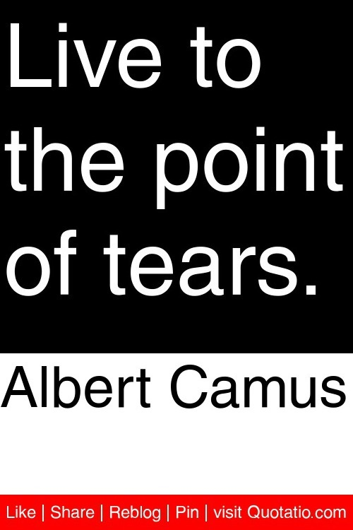 the world in the eyes of albert camus Literary analysis: how meursault is indifferent in the stranger, by albert camus although meursault is the title character and narrator of albert camus' short novel the stranger, he is also a somewhat flat character.