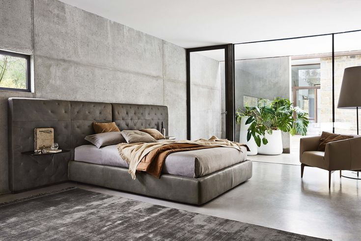 The #Ecléctico #bed can be customised to suit individual requirements.  #ditreitalia #newproducts #bed #design #cozy