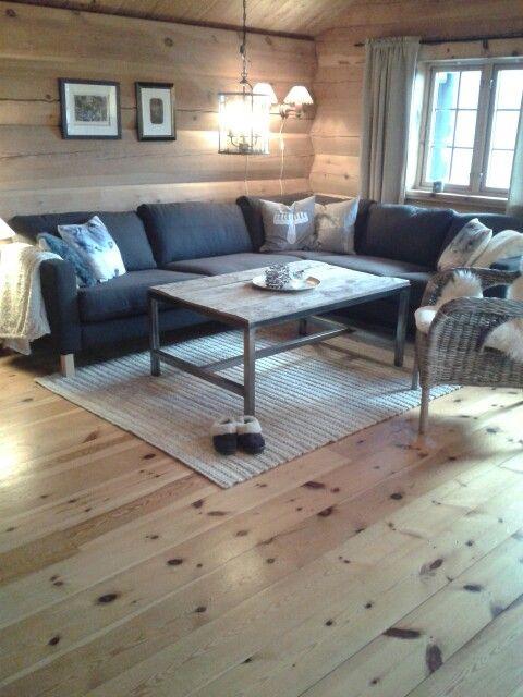 Norwegian cabin, mountain cabin, hytte, ikea, karlstad, hytteinteriør