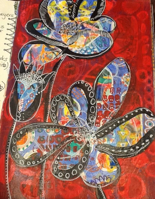 Sylvia Marris, Flower power 1