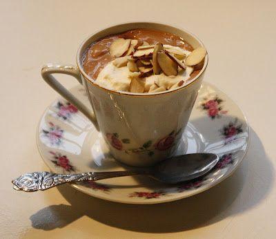 Gry´s lavkarbo: Sjokoladepudding med mandler og mandarin