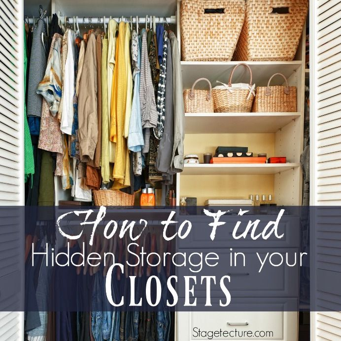 how to clean closet clutter