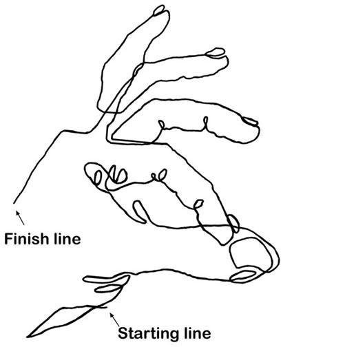 Contour Line Drawing Technique : Best contour line images on pinterest outline