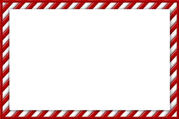 Candy Cane Frames For Designing And Scrapping