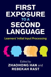 The initial state of learner spontaneous input processing in foreign language learning, as well as the extent to which this processing leads to intake, is of central importance to theoreticians and teachers alike. In this collection of original studies, leading experts examine a range of issues, such as what learners do when faced with a language they know little or nothing about.