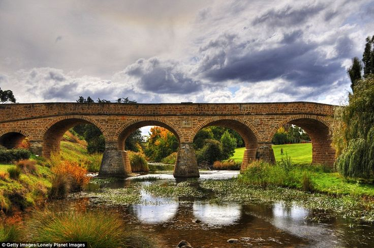 Richmond Bridge is a heritage listed arch bridge, 25 kilometres north of Hobart in Tasmani...