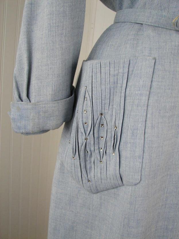 1950s Dress detail