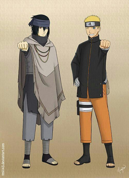 Naruto - Sasuke Uchiha and Naruto Uzimaki knew each for many years before becoming friends. They were rivals at a young age, and when they became comrades at the very edge of adolescence, rivalry impeded their forming any stronger bond. But Naruto's friendly attitude caught Sasuke off-guard more than once, and a friendship was formed slowly but surely; however, Sasuke tried to severe the tie through violence, and for a long time, he abandoned Naruto and his home. During this time, Sasuke…