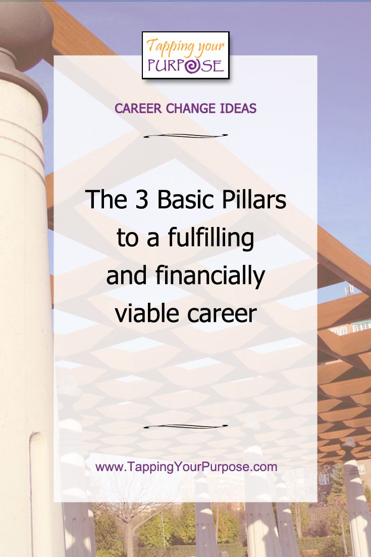 Career Change Tips | The 3 Basic Pillars to a fulfilling and financially viable career | #careerchange #dowhatyoulove #fulfillingcareer