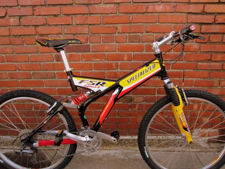 19 Inch Specialized Fsr Sport 900 Old Bikes Bike
