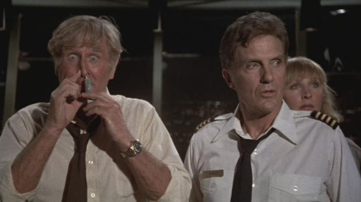 """Looks like I picked the wrong week to quit sniffing glue.""    -Steve McCroskey (Lloyd Bridges), Airplane (1980)Quit Sniffing, Airplane! The Movie, Wrong Weeks, Sniffing Glue, Airplanes The Movie, Airplanes 1980, Favorite Movie, Lloyd Bridges, Airplanes Movie"