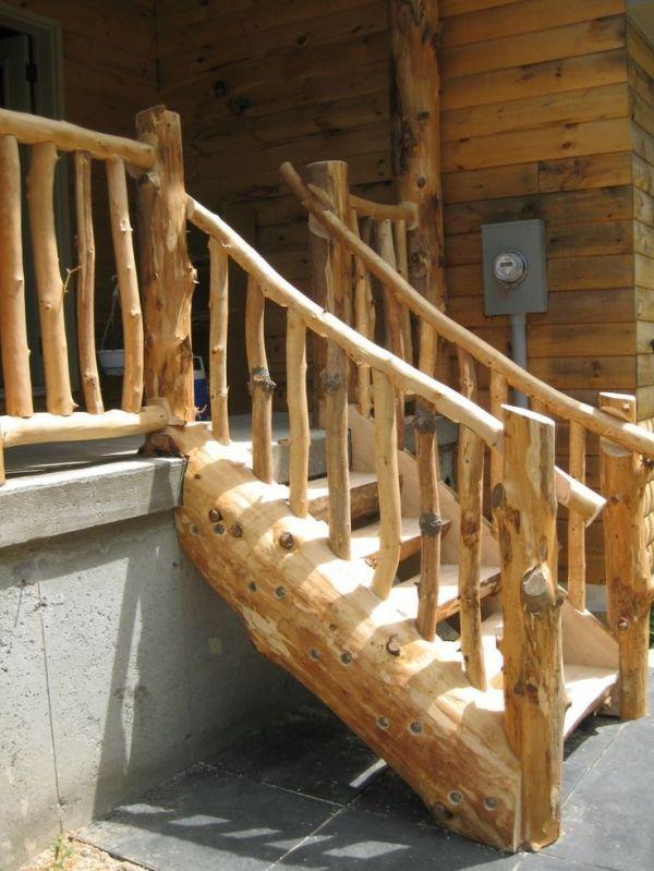 Best 25 Rustic Stairs Ideas On Pinterest Basement Steps