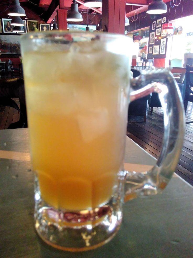 My iced-tea, without a plastic straw. Visit my blog to find out about saving waste by saying NO to plastic straws...