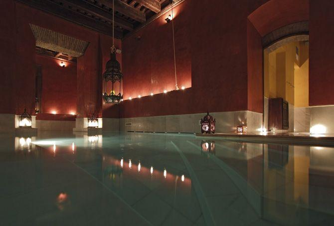 Arab baths in Sevilla