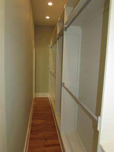 long narrow walk in closet - Google Search                              …
