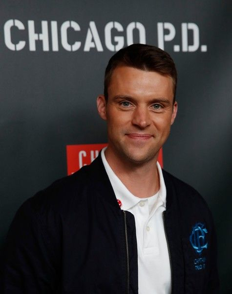 Jesse Spencer arrives on the red carpet for the 3rd Annual OneChicago Press Day in Chicago, Illinois on October 30, 2017
