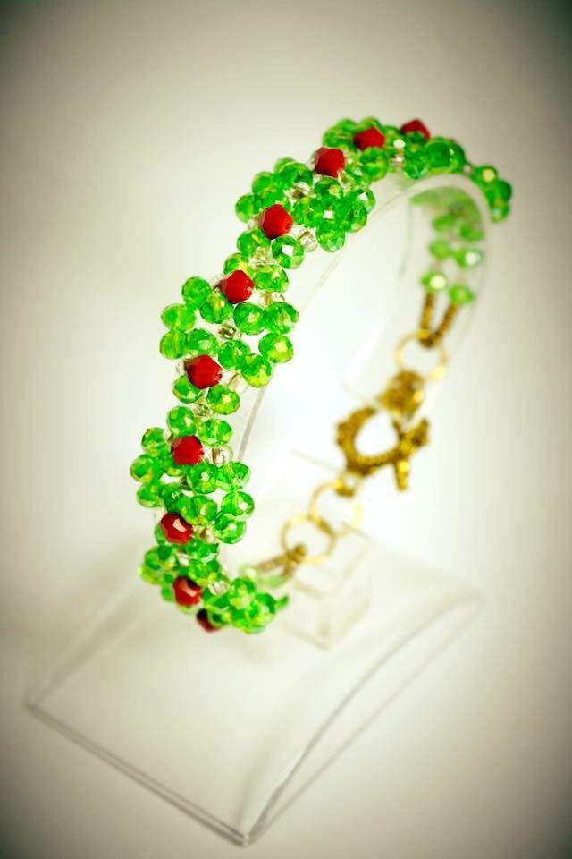 Excited to share the latest addition to my #etsy shop: Bracelet 22 http://etsy.me/2CT59pQ #jewelry #bracelet #gray #pink #no #women #womanbracelet #handmadebracelet #fashionbracelet
