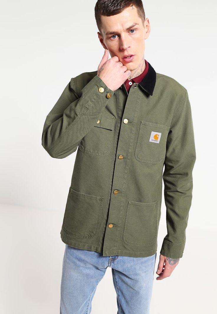 carhartt wip jacket sale, CARHARTT WIP MICHIGAN CHORE - Summer jacket rover green/black Men Clothing Jackets, carhartt wip college hoodie Shop Best Sellers