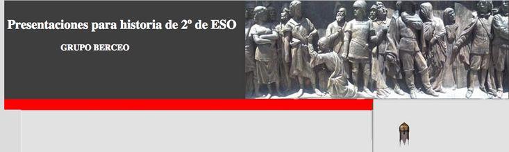 Presentaciones de Historia de 2º ESO