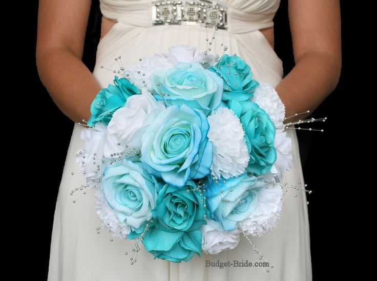 Tiffany Blue Wedding Flower Package