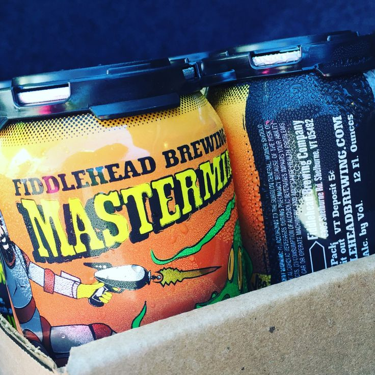 Mastermind Double IPA at Fiddlehead brewery in Shelburne, Vermont
