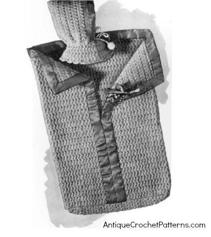 Crochet Baby Bunting Pattern - Crocheted Bunting