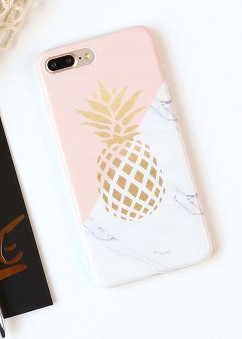 Pretty Pineapple Case in 2019 | Phone cases | Phone, Phone