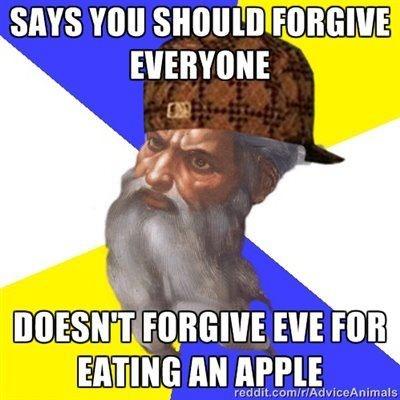forgiveness / god / jesus
