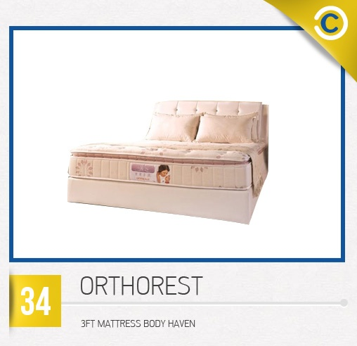 ORTHOREST 3FT Mattress Body Haven #MyDreamHome