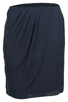 Tom Tailor Damen Rock flowing skirt Blau (6593) UVP: 49,95