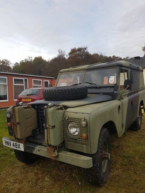 landrover series 3, ex military vehicle, collectable, original, ffr
