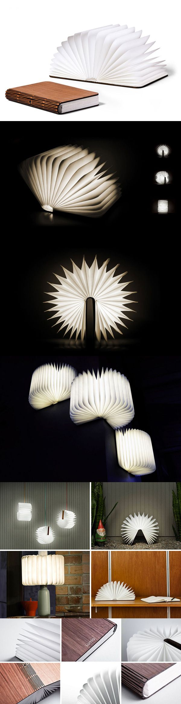 Saw the creator of this on Shark Tank last night and this is the coolest most genius thing ever. It reminded me of something out of Harry Potter   LUMIO | ILLUMINATED BOOK