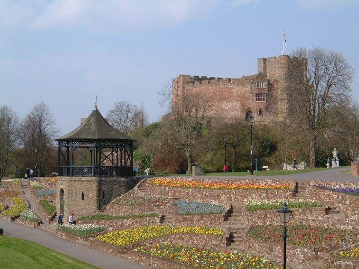 Tamworth Castle Staffordshire England