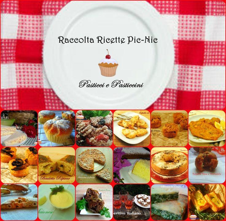 Raccolta ricette Pic nic, più di ventiricette selezionate daPasticci e Pasticcini, perfetteper essere gustatein allegria durante i vostri pic nic.