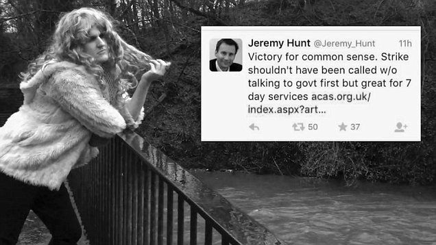 Hello Jeremy: Junior doctor creates hilarious Adele parody addressed to Jeremy Hung over his proposed contract changes.