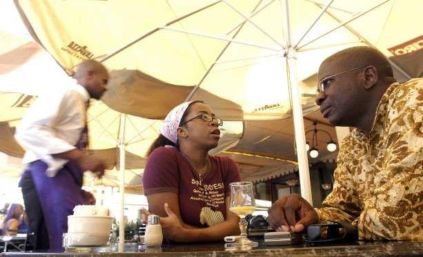 World cuisines at Johannesburg - NAASHON ZALK/Bloomberg