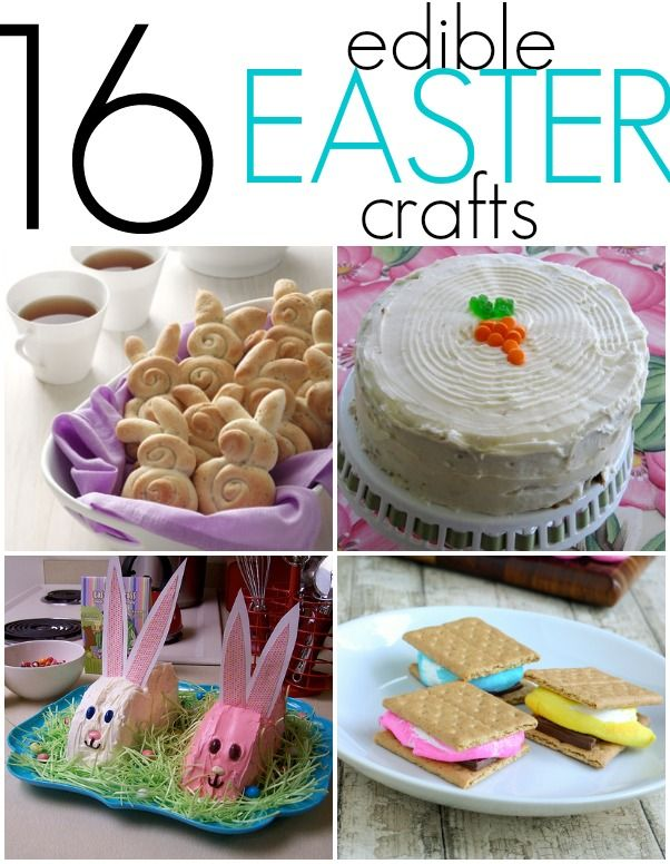 16 yummy treats to bake and eat for Easter with the whole fam!